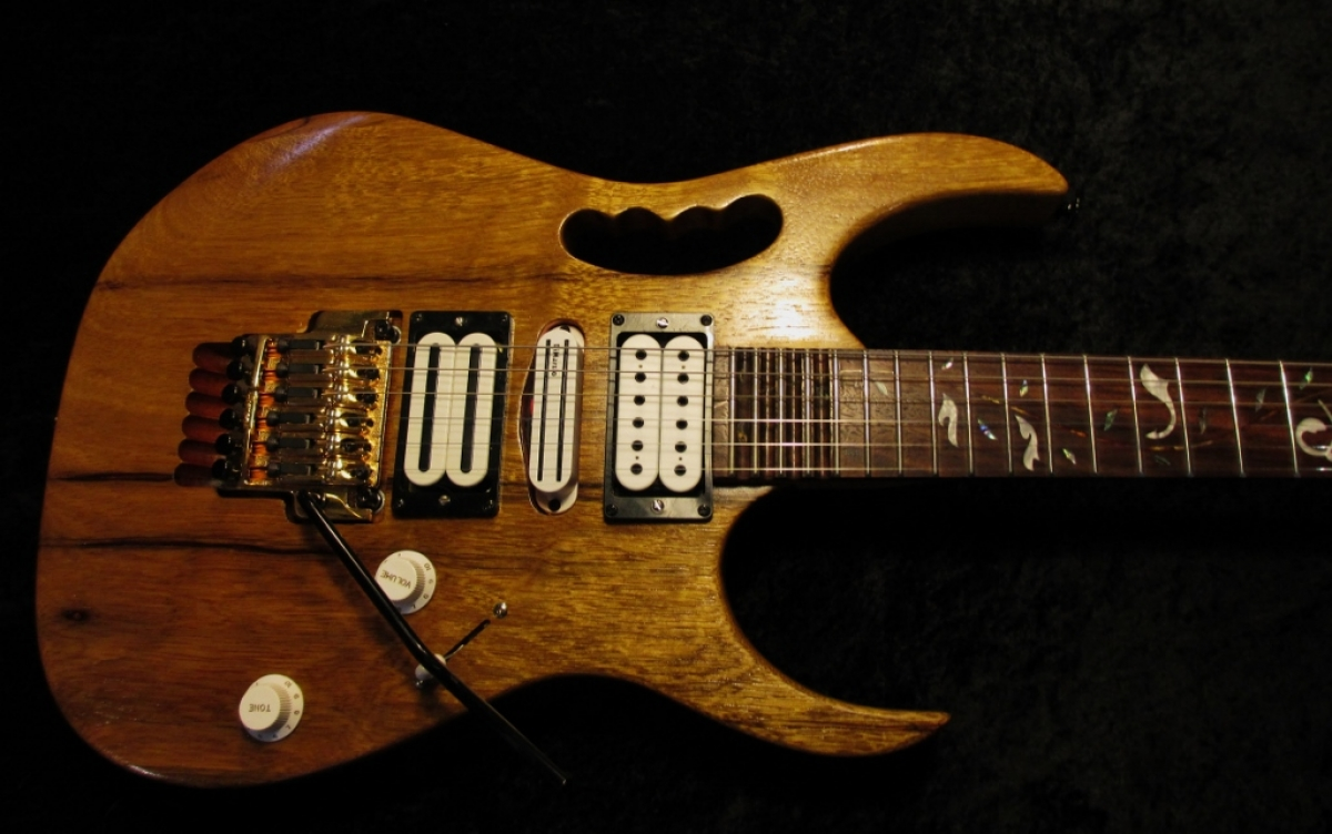 Ibanez Jem Natural Swamp Ash Matching Headstock