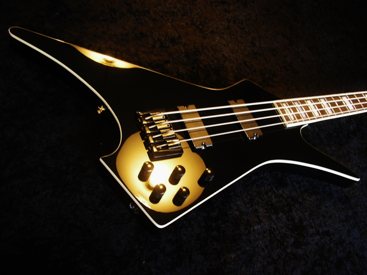 Rees Custom Scarab Bass 4 String