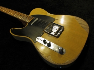 "Fender Telecaster Lefty Radius changed to 9.5"" and refretted with Jumbo 6105 Reliced to Fender Customshop Specs"