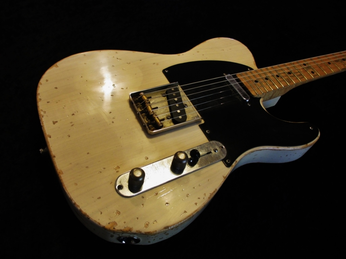 Fender Telecaster Heavy Relic in Blonde