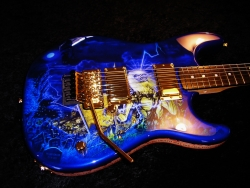 Iron Maiden Live After Death Custom Strat Build and Paint