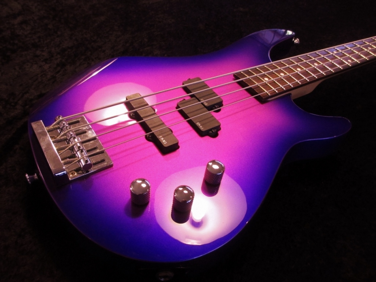 Jackson EMG's Custom Candy Paint