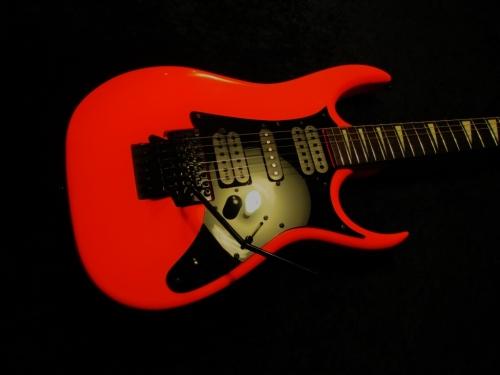Ibanez Road Flare Red True Neon Custom Guitar Works