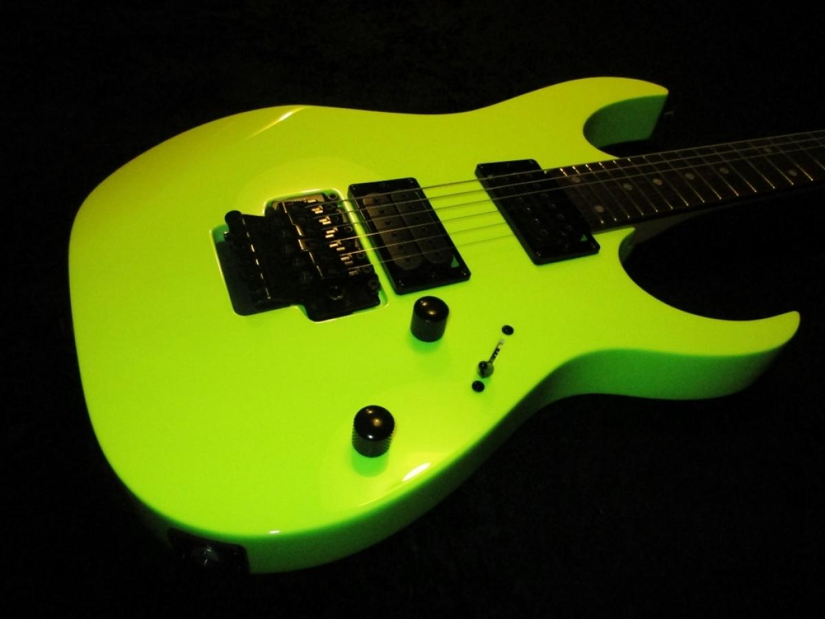 Ibanez RG Hi Vis Yellow (True Neon) - Custom Guitar Works