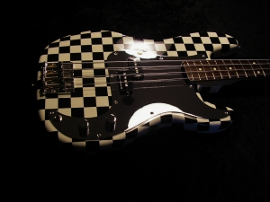 Steve Harris (Iron Maiden) Chequer Bass
