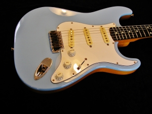 MIJ Strat Split Colour