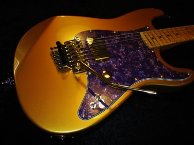 Rees Custom Gold Rush (old headstock)