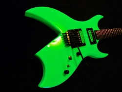Neon BC. Rich Bich New Tremolo, Pickups, etc.