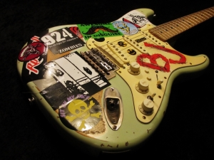 Billie Joe Armstrong Green Day Roland Fender Stratocaster Version Repaint Relic